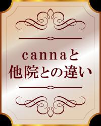 cannaと他院との違い